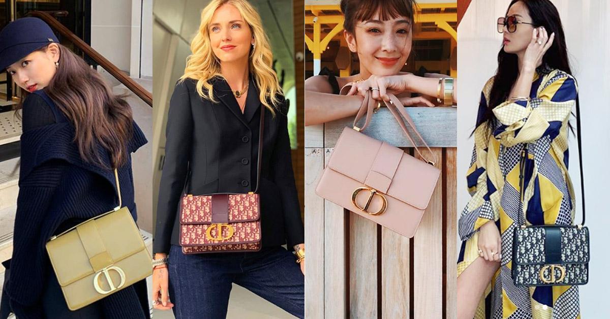 在IG被推爆!秀智、隋棠、Angelababy全都在背Dior的這款新包「30 Montaigne」