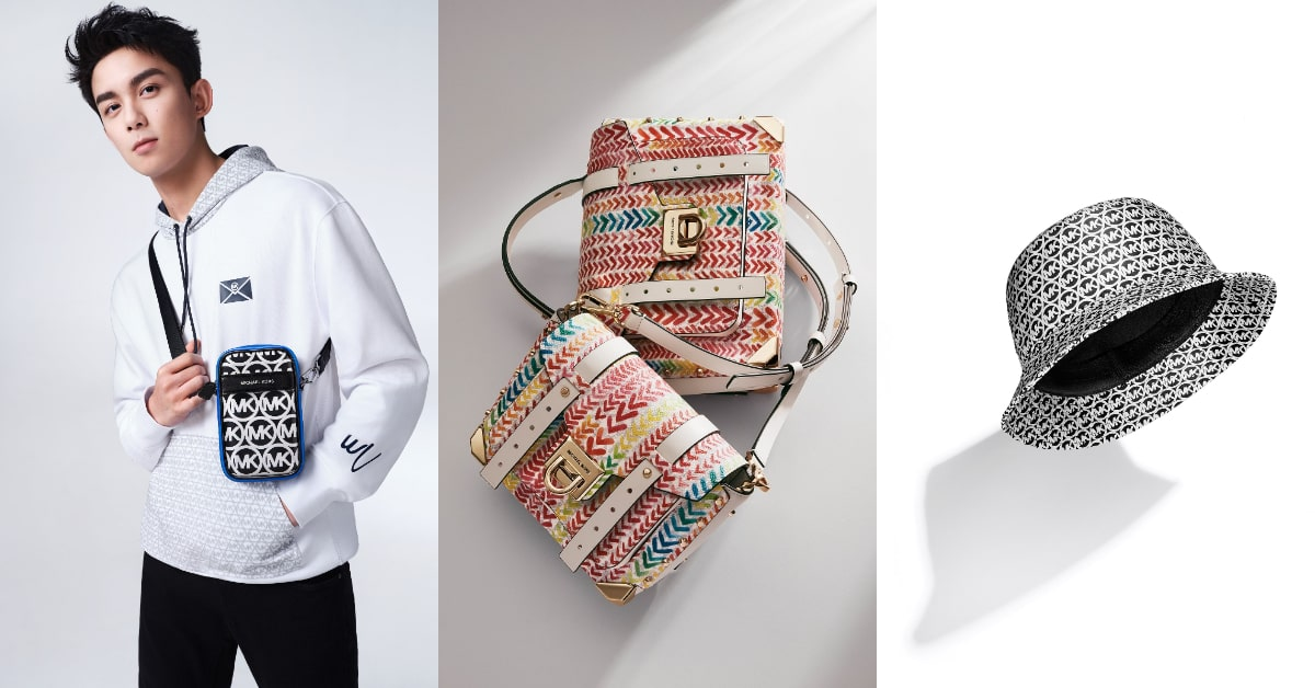 MICHEAL KORS包包推新品,首次與吳磊聯名,這個MK包是在對我揮手嗎?