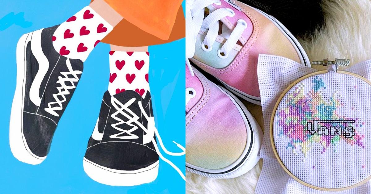 不只有Kenzo聯名!Dcard女大生討論度最高的4雙Vans鞋,超高厚底、懶人穆勒...這樣買就對了
