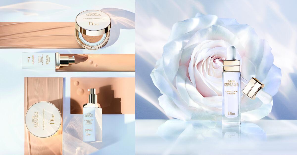 敏弱肌也能用!Dior美白精華、100%物理性防曬BB霜、氣墊防護帶著走