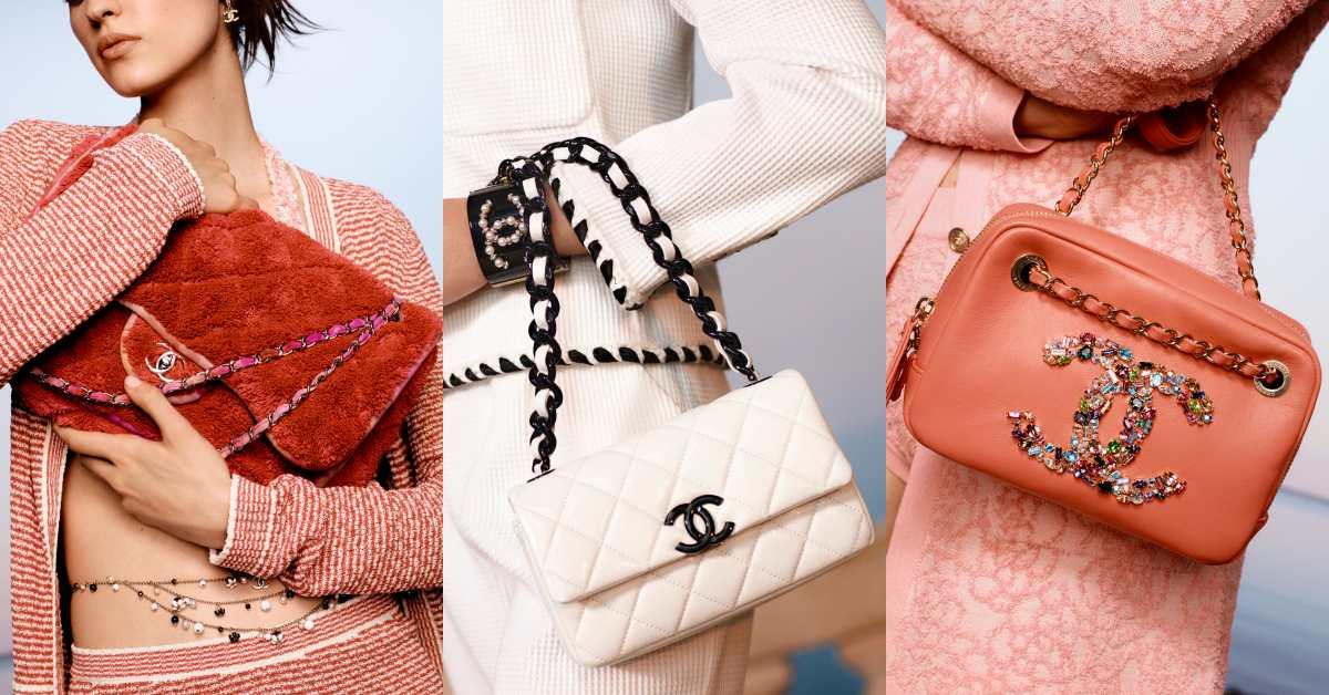 Chanel 2021度假系列包款美得打架!奶霜白到珊瑚色,夢幻逸品清單越來越長!