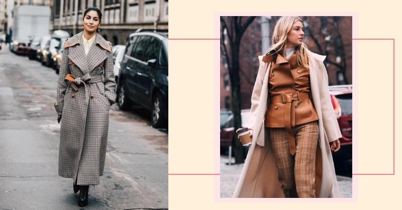 大衣穿搭推薦!冬天這樣穿保暖不臃腫,3招穿出時尚感!
