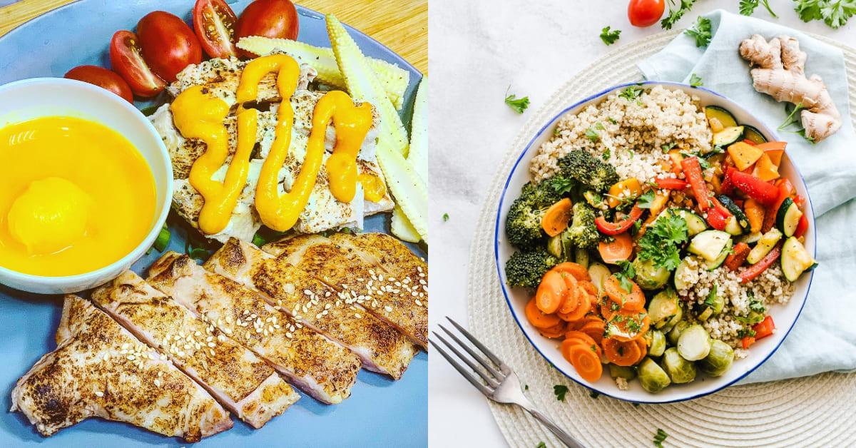 台中美食推薦「72度C舒肥健康餐」!均價150元就能嚐遍好料,法式清煎、檸檬胡椒天天吃不膩