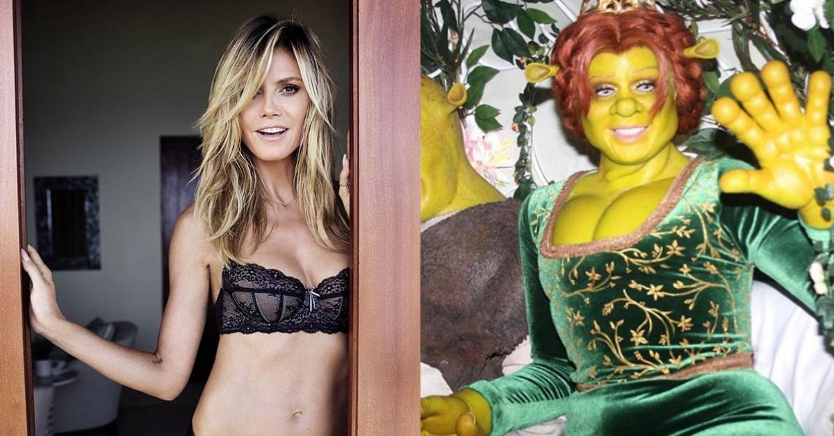 萬聖節資優生海蒂克隆扮成「費歐娜公主」!加碼奉上歐美藝人們的Crazy Halloween