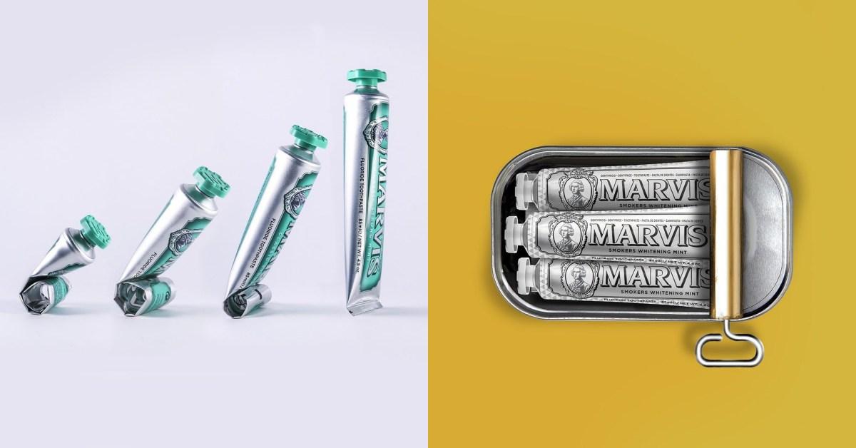 【10Why個為什麼】Marvis牙膏名氣不輸Gucci包包!熱賣超過半世紀,10點奠定精品級牙膏地位