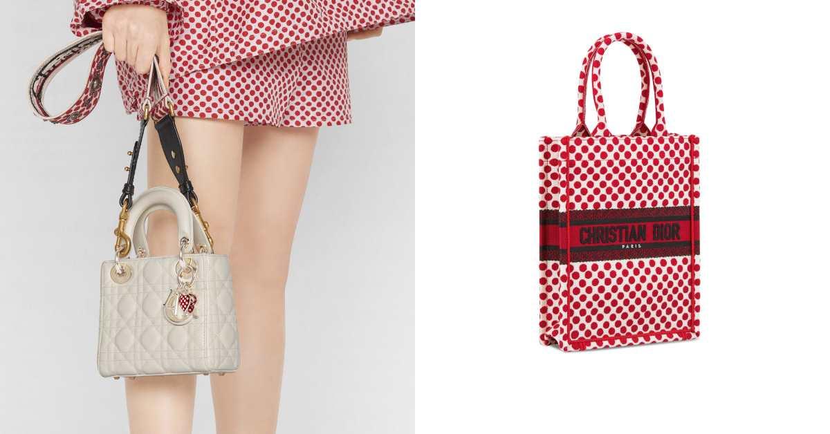 Dior包包、服裝被紅色攻佔!情人節限定系列Dioramour剛上市就賣翻天,稀有數量不等人!