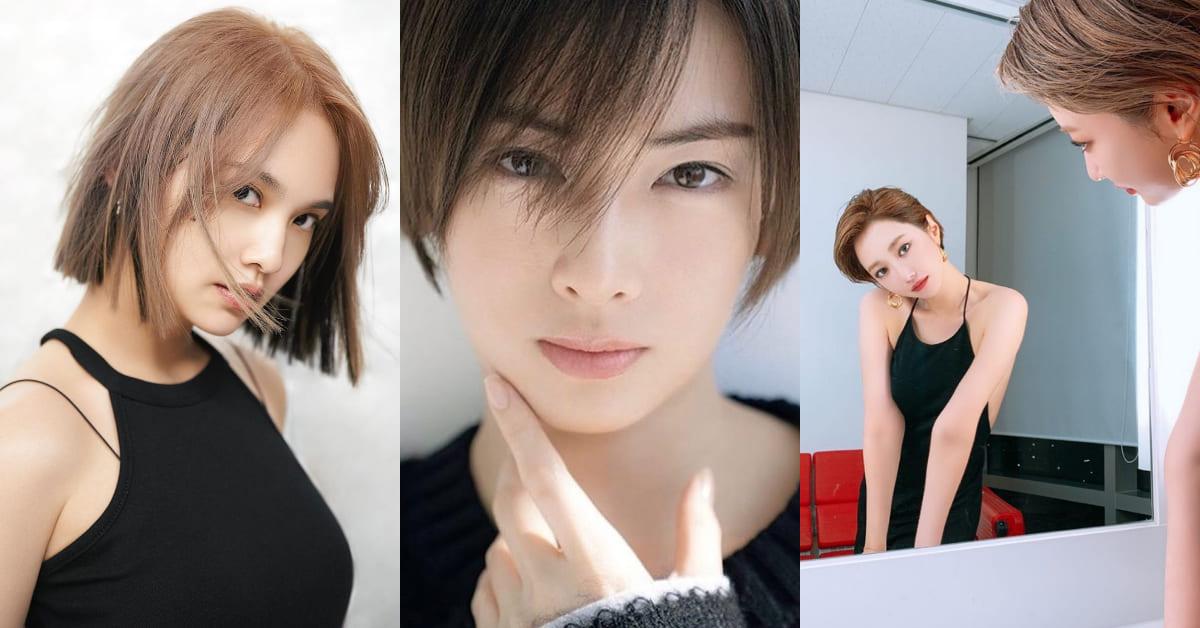 """2020髮型可參考楊丞琳!5款""""奶茶色短髮"""",顯白而且永遠看起來像""""戀愛中的女孩!"""