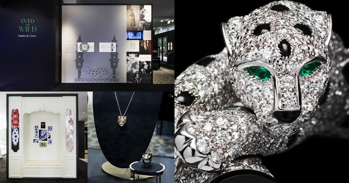 卡地亞「美洲豹」全球巡展在遠百信義A13!設計靈感、精湛工藝4大主題必看