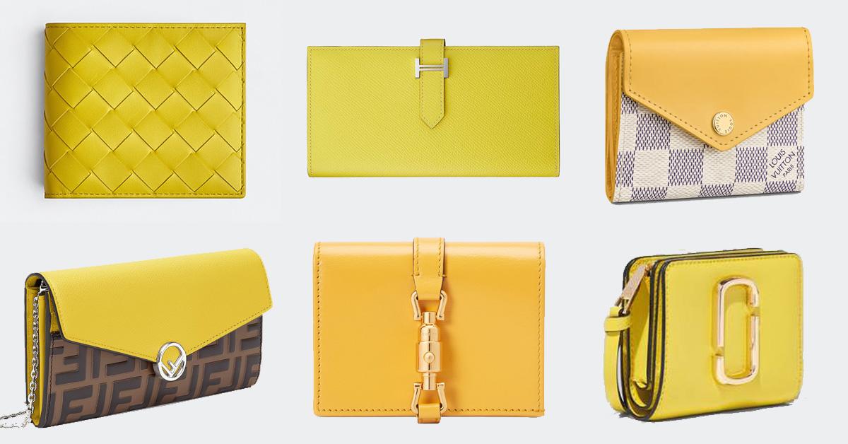 錢包推薦「亮麗黃」!Hermès、BV、Fendi、LV… 2021招財就靠8款精品錢包