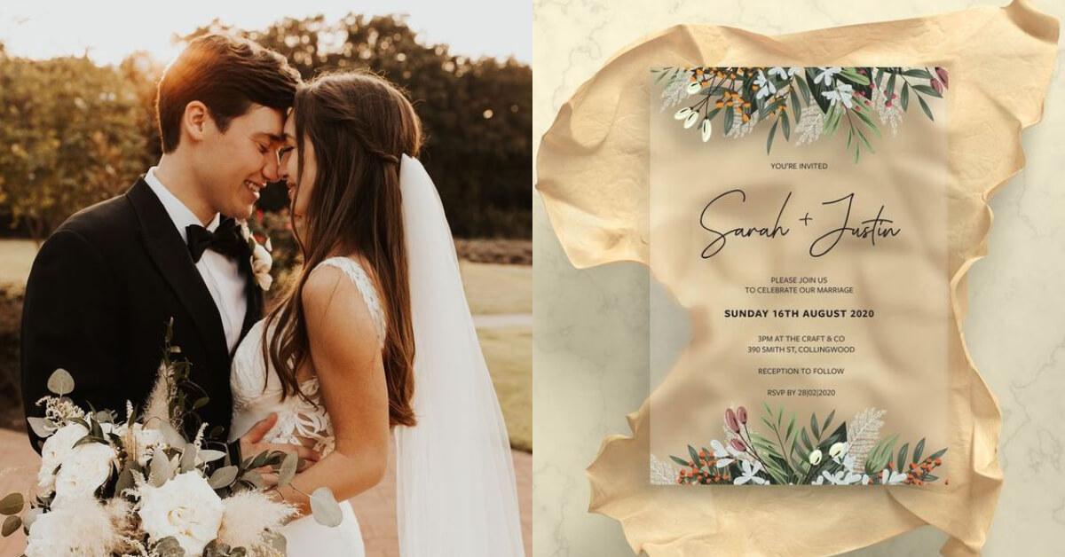 打造完美夢幻婚禮不能缺少的3個細節!獨特的喜帖、精緻的小禮物,還有最關鍵的是「這個」