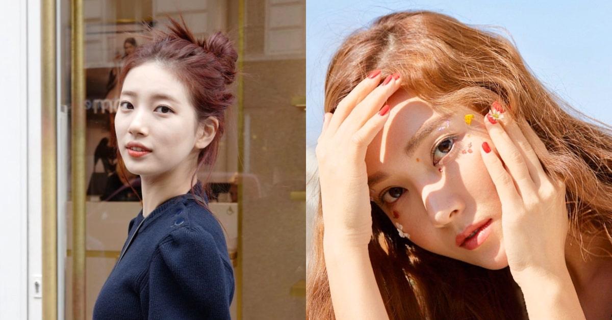 2021韓星必備6款髮色!連Jessica鄭秀妍也瘋迷的「焦糖棕」、秀智代表的「罌粟紅」,用