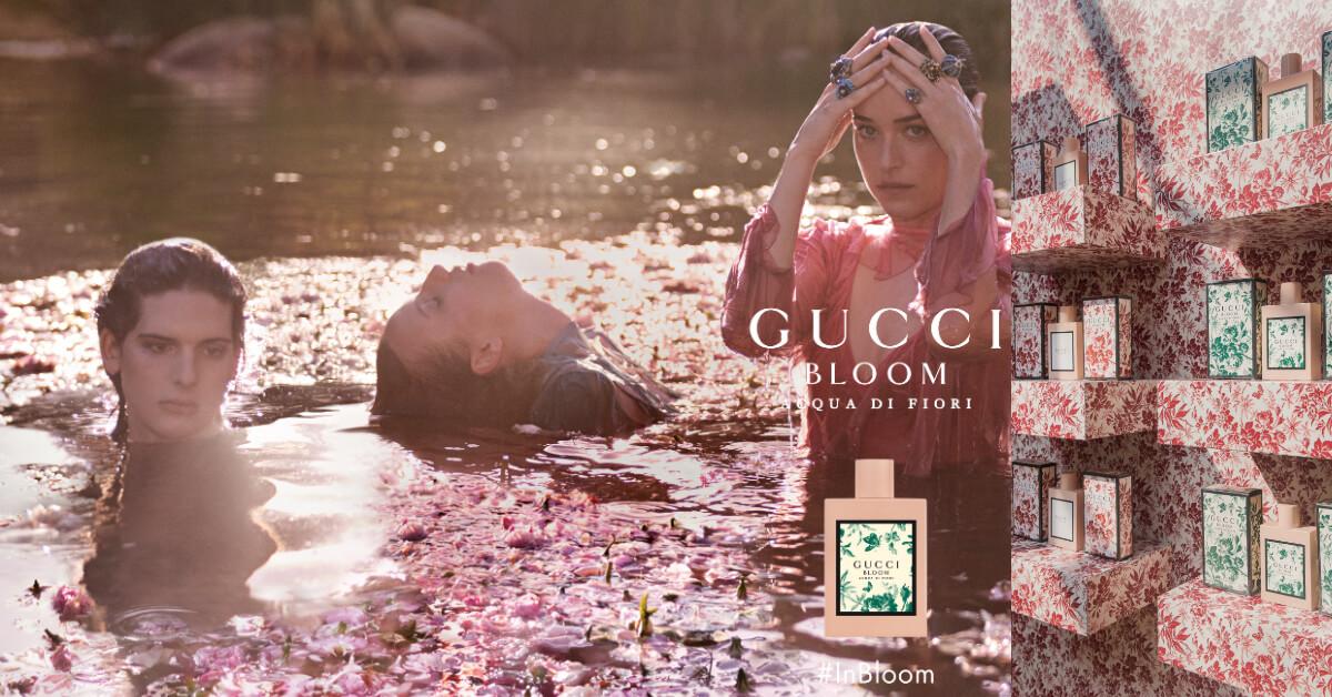 Gucci 首款設計師香氛系列Gucci Bloom!清新花香調彷彿走在花園中