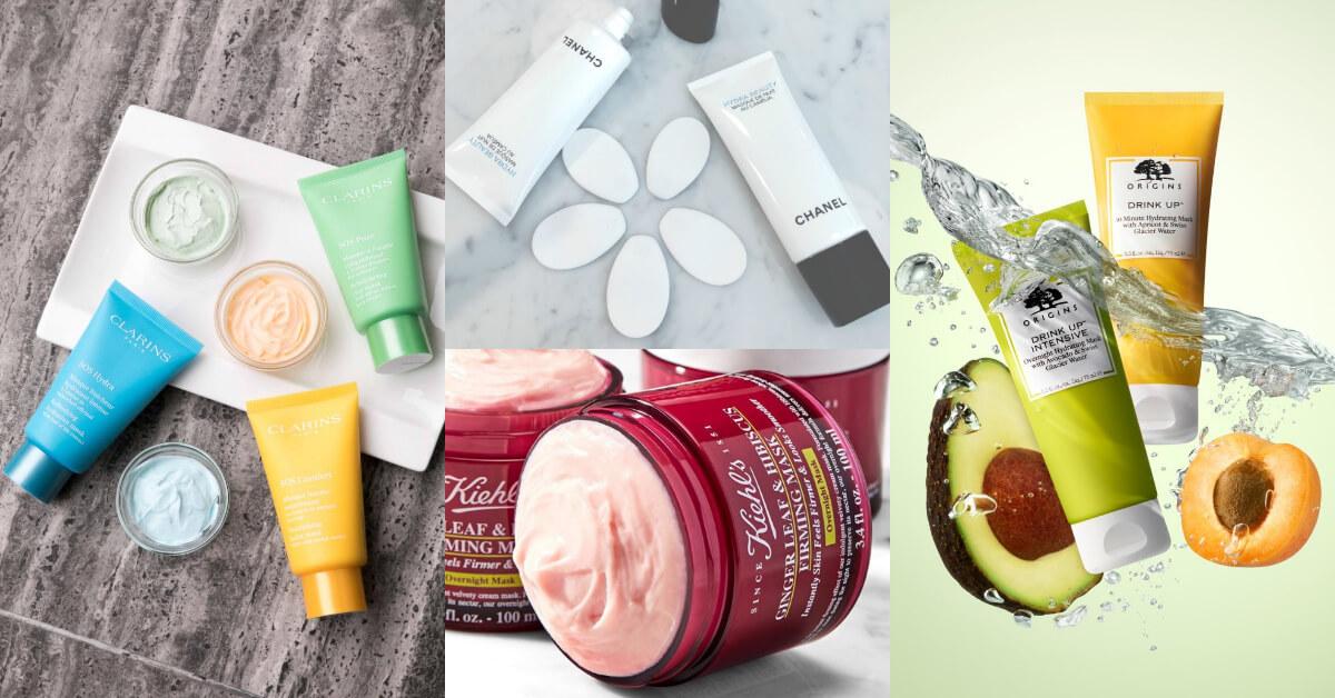 過年熬夜也不怕!10款保濕面膜推薦,讓你肌膚依然發光好氣色GET