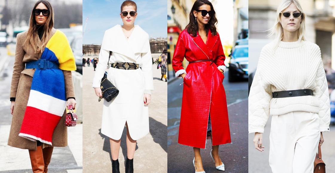 厚重冬裝沒法展現好身材?這3種「腰帶穿搭法」不僅視覺超顯瘦,更讓造型有層次!