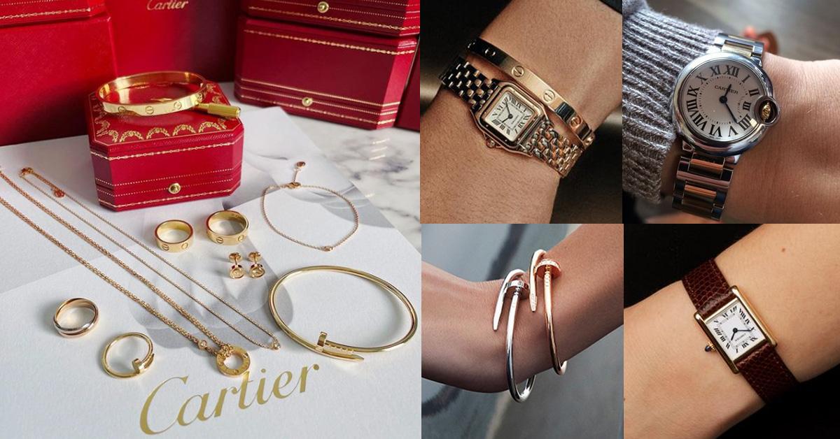 """Cartier""""釘子""""手環、三環戒,要先買哪個?品牌7大經典產品入手前須知"""