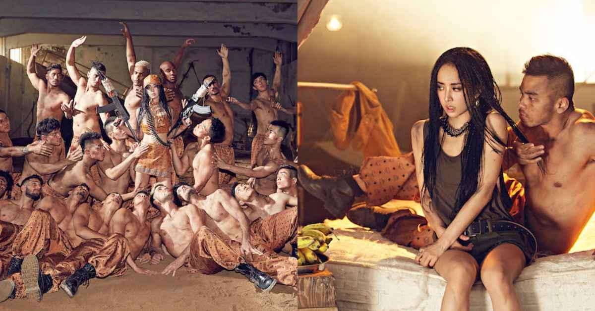 蔡依林〈你也有今天〉新歌MV超狂野!與眾猛男穿上「這個品牌」服裝