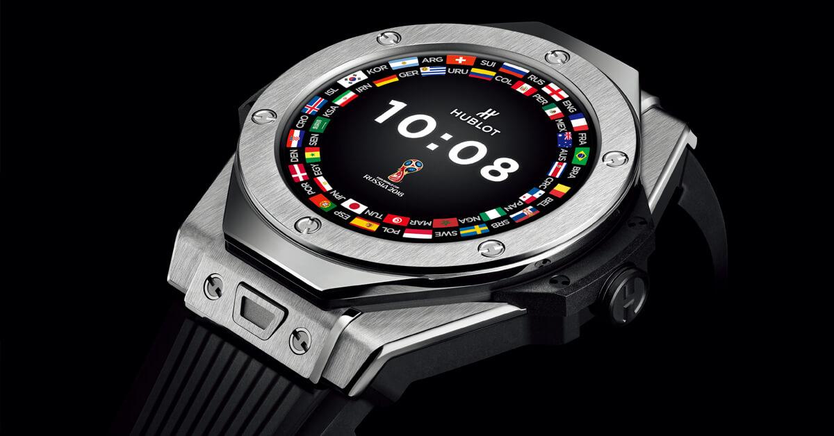 【2018巴塞爾錶展新訊日報】智能錶愈燒愈火,高價腕錶也淪陷!HUBLOT特為FIFA世足首推足球科技智能錶!