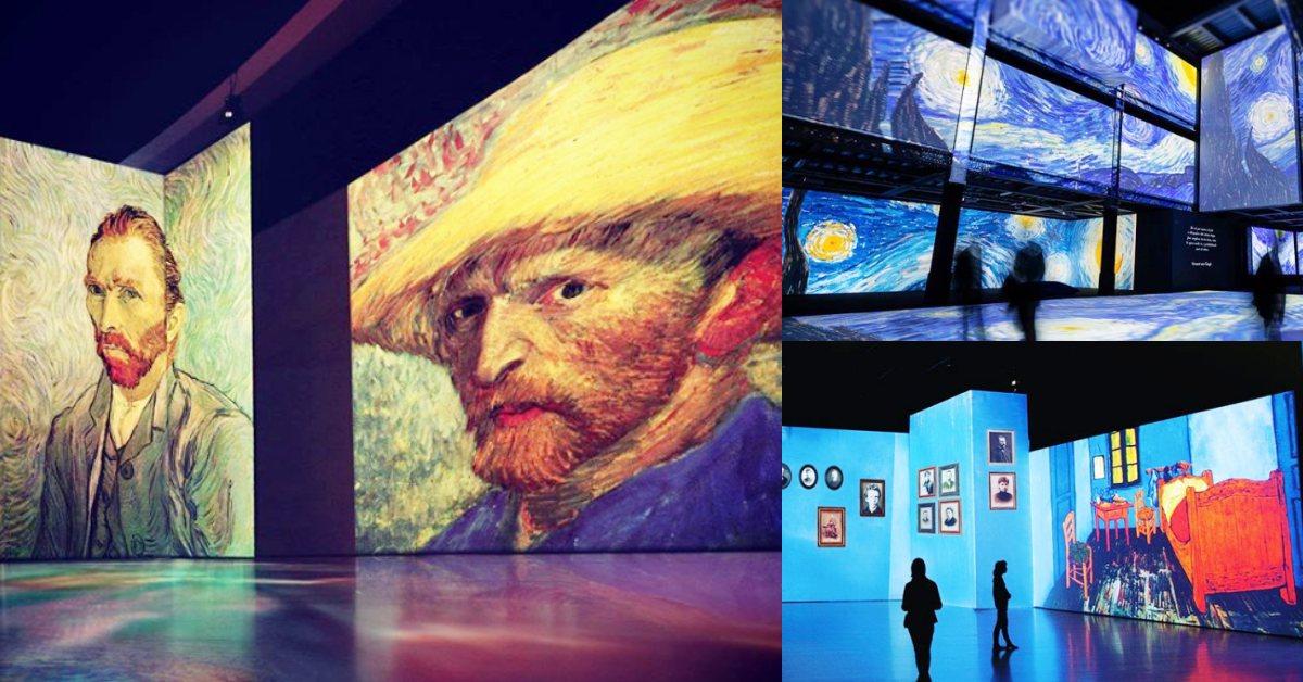 2020年最強展覽!《再見梵谷-光影體驗展》將登台,親自走進畫裡的魔幻世界