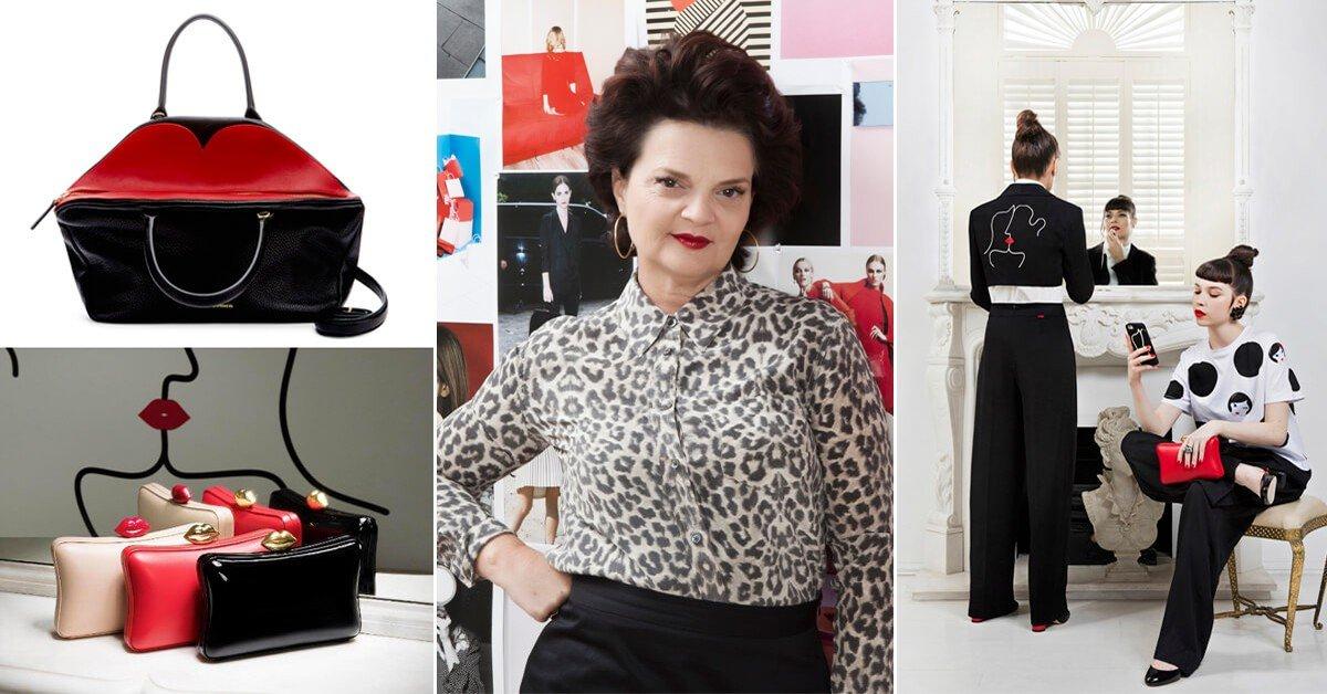 【時尚必修課】10件事帶妳了解英國傳奇設計師Lulu Guinness!除了紅唇包,秋冬再攻女孩衣櫃!