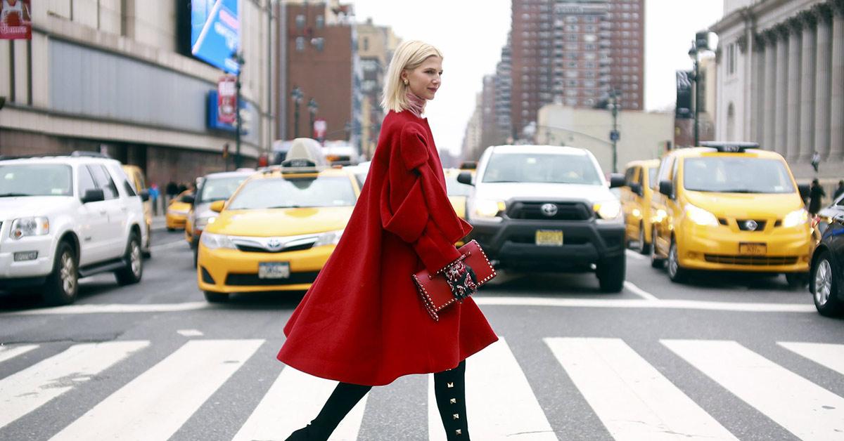 過年就怕紅色很俗氣?三種紅色穿出不同新造型