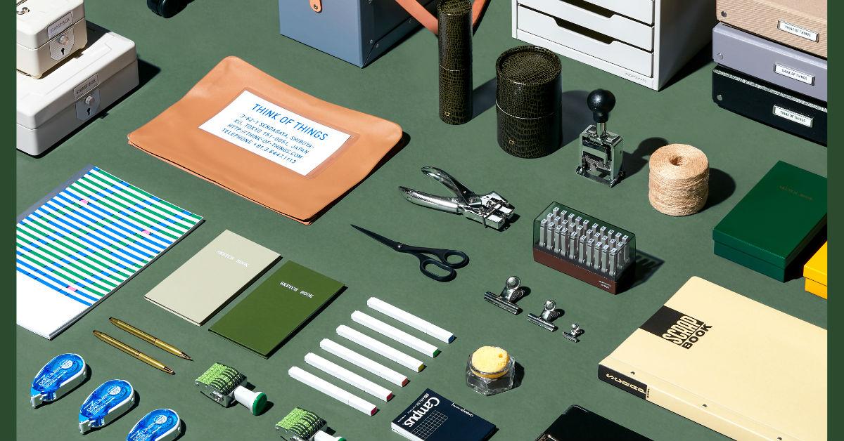 《理想的文具》盛大開展!誠品呈現懷舊日式復古雜貨店