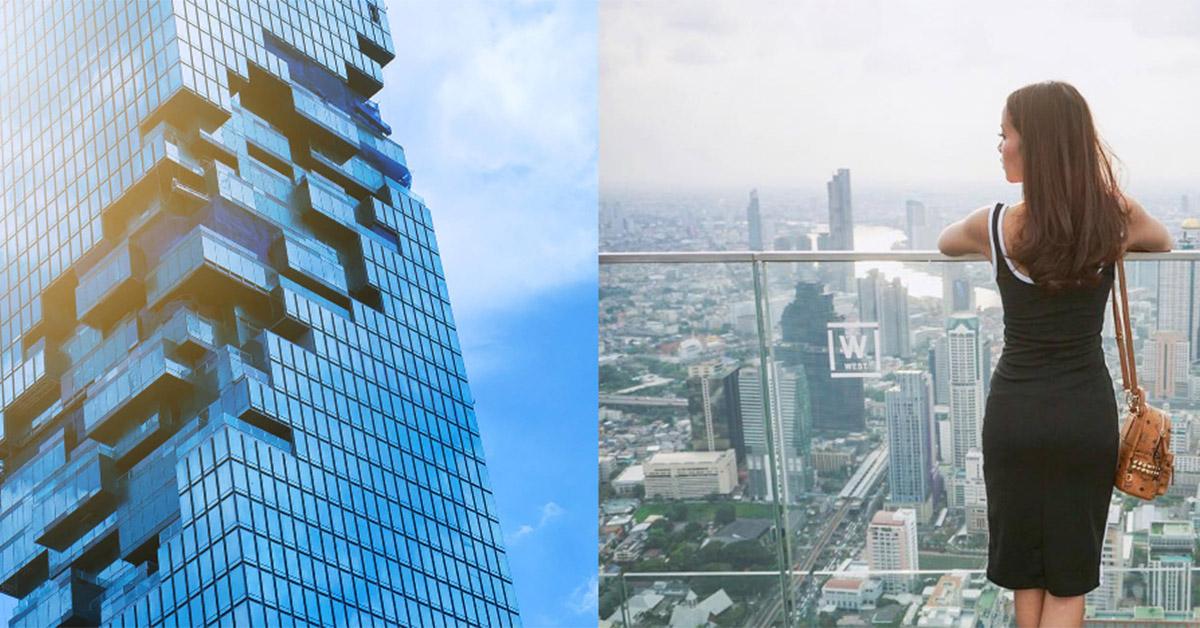 心臟病慎入!曼谷「最高摩天樓」透明玻璃步道包準你嚇破膽
