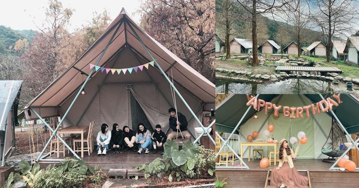 宜蘭秘境景點!被山林包圍的《那一村 Nayi Villa》懶人露營耍廢到極致,與閨蜜來場小旅行!