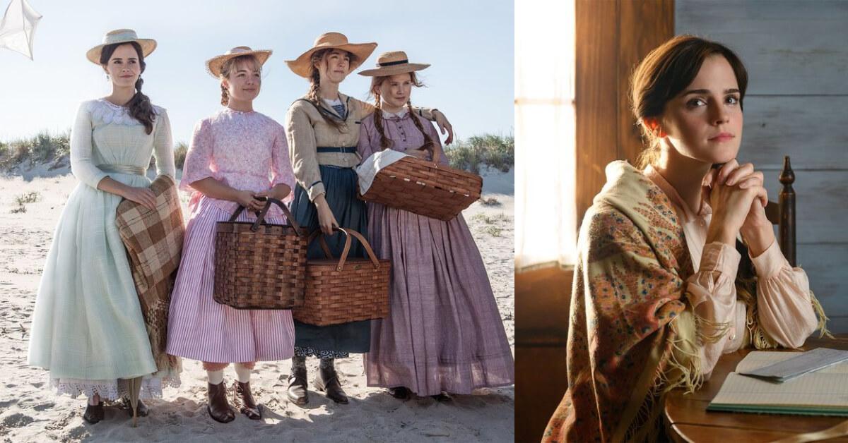 艾瑪華森主演《小婦人》劇照釋出!高顏值演技派卡司、絕美古典服飾帶你回到十九世紀