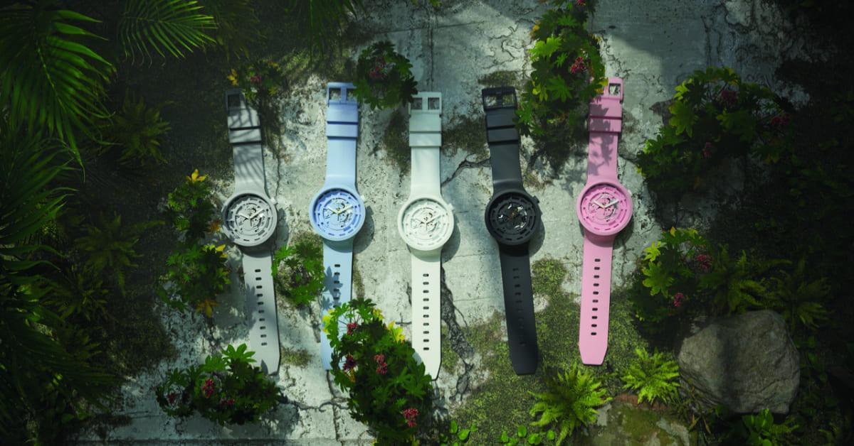 Swatch NEXT系列手錶上市,永續再生的春季時尚,夢幻馬卡龍配色女孩難以抵擋!