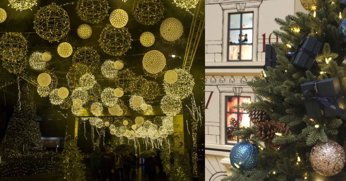 媲美六本木的聖誕造景!LE MOMENT在台北101用超過30萬盞LED燈打造水晶大道