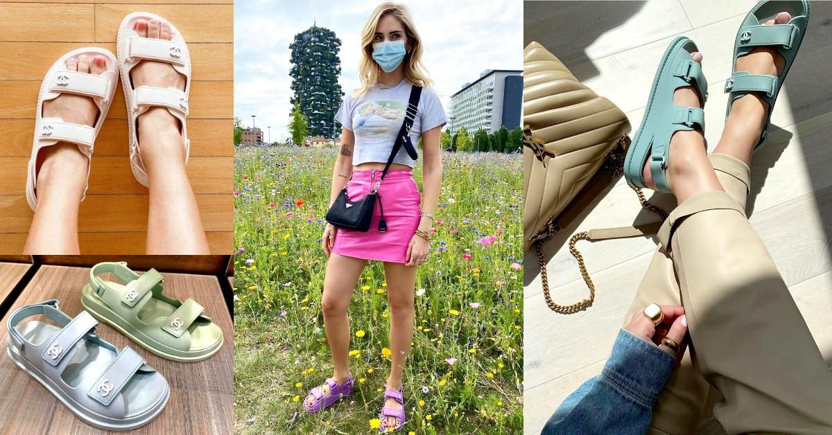 Chanel實體店限定?!只有內行人才知道,官網沒有的粉嫩系「馬卡龍涼鞋」