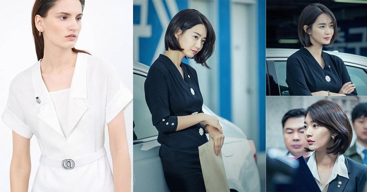 申敏兒最新韓劇《輔佐官》,熱搜OL穿搭品牌是這家!連全智賢也愛穿