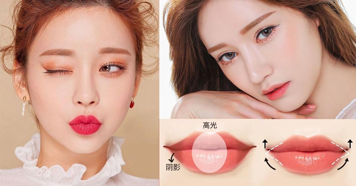 不同唇型畫法也不同?薄唇、厚唇、下垂唇化妝密技公開,完美唇妝輕鬆Get