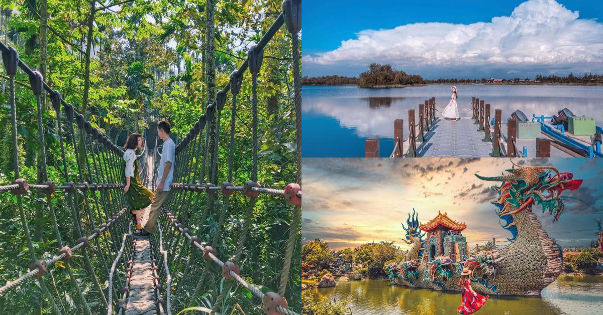 雲林打卡5大秘境快收藏!泰國叢林、神秘峽谷、全台最大寺廟只在這裡看得到