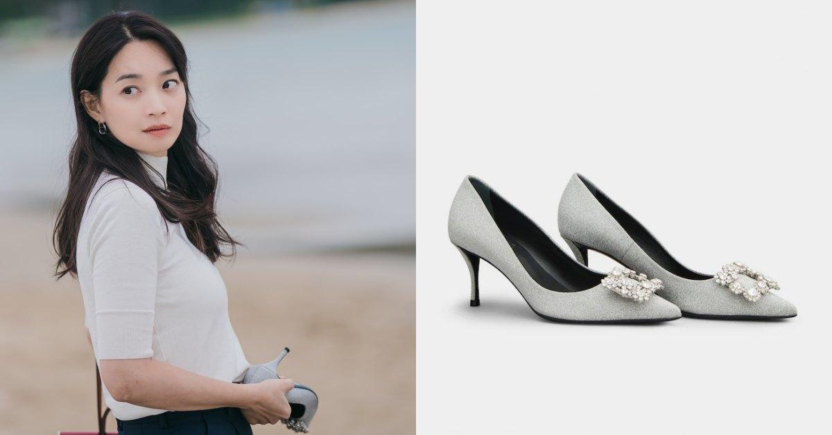 《海岸村恰恰恰》申敏兒這款「方釦鞋」成主角!Roger Vivier花鑽系列真的美翻,女孩夢幻婚鞋就是它
