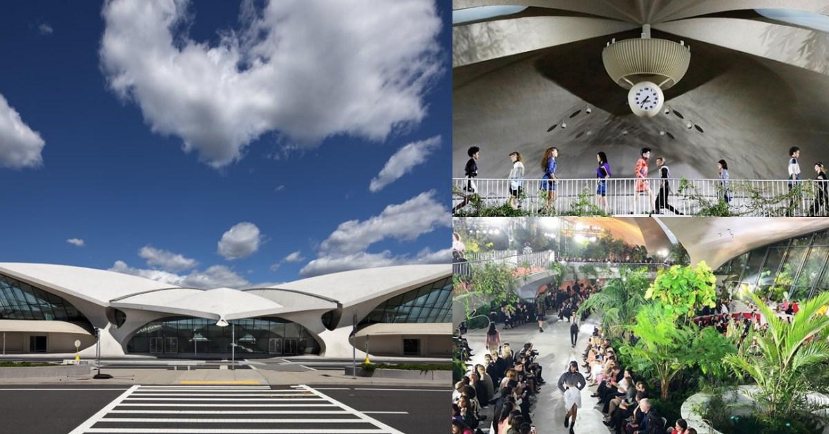 搬進2500顆植物,把紐約機場變成秀場!LV 2020早春大秀真實上演「機場時尚」