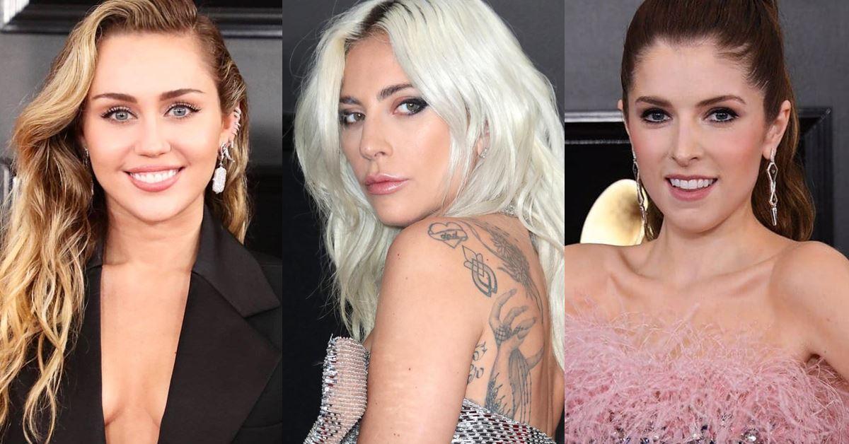 從女神卡卡到麥莉,女星全都用「裸色妝」稱霸葛萊美紅毯