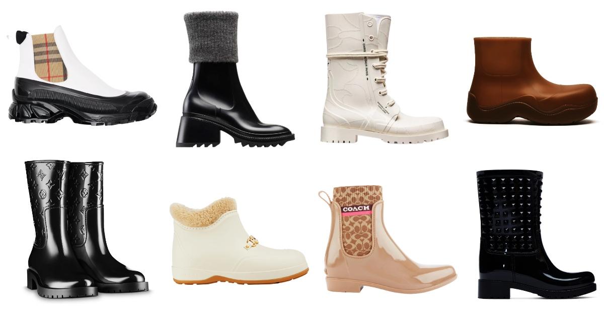 雨鞋防水更要美!LV、Dior、BV...10款時髦度百分百的精品雨鞋!
