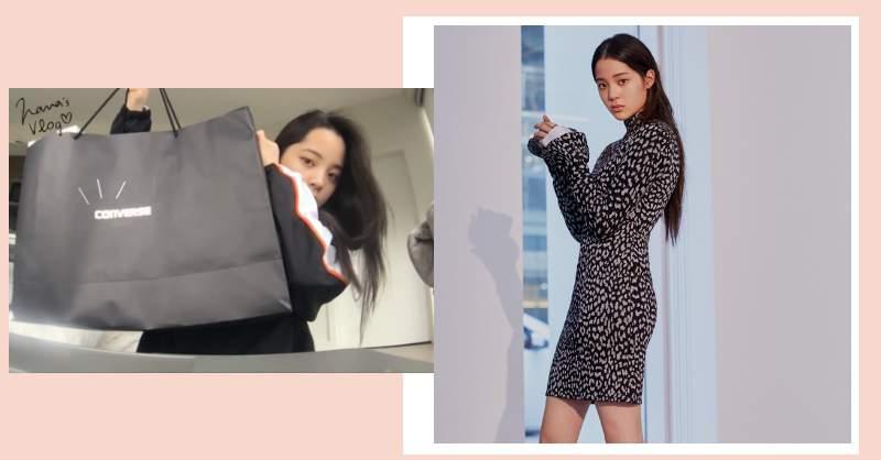 「男孩感」球鞋上陣!歐陽娜娜波士頓開箱,這 3 款帆布鞋台灣也有賣!