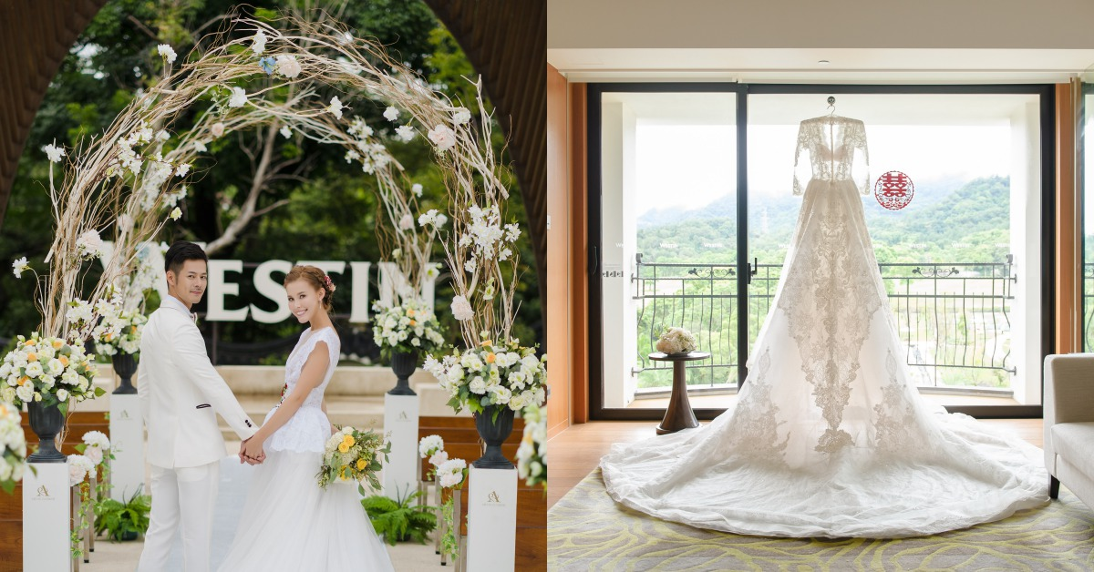 一生只有一次就選「度假風婚禮」!池畔風光、綠茵美景不用飛國外,台灣也能辦到