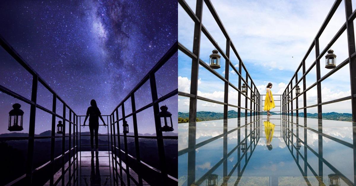 台南宛如鏡面的天空步道秘境!超美雲海、抹茶色山景都在《174翼騎士驛站》
