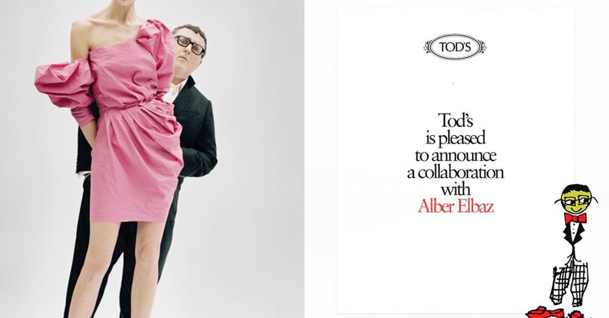 【快訊】眾粉期待!前浪凡總監「Alber Elbaz × Tod's」聯名將於今夏開賣!