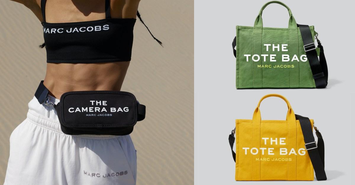 Marc Jacobs帆布包推薦Top 5 !檸檬黃、嫩草綠....相機包也加入,托特包IG人氣繼續夯