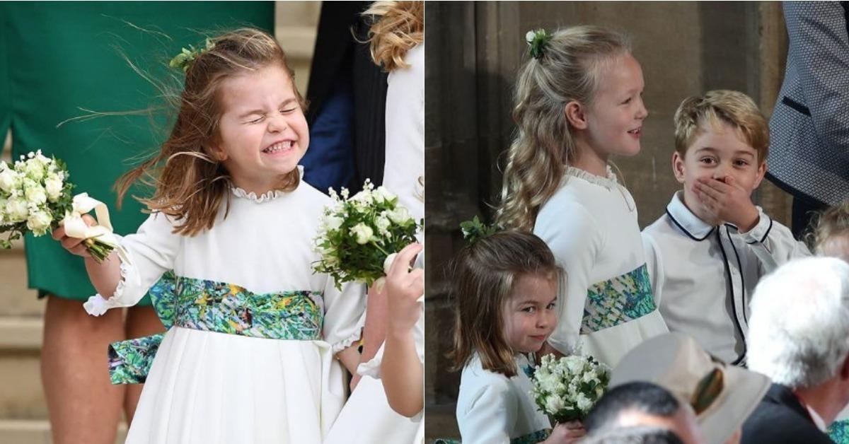 厭世上班日就靠他們來療癒!回顧英國皇室婚禮上喬治小王子與夏綠蒂小公主的萌樣