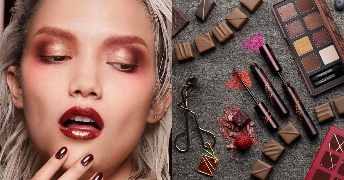 忍不住想咬一口的彩妝!植村秀攜手梅森巧克力推出 #巧克力色正潮 限量系列