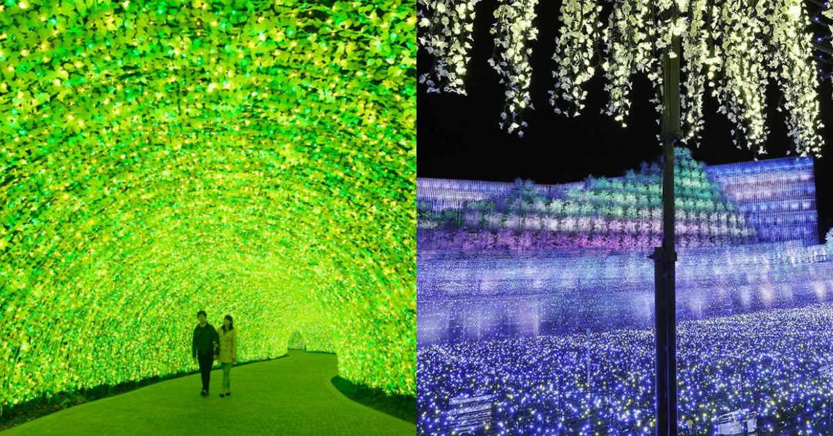 日本中部賞最炫爛奇蹟燈景!名花之里、木曾三川公園、拉格娜登堡3大主題光節