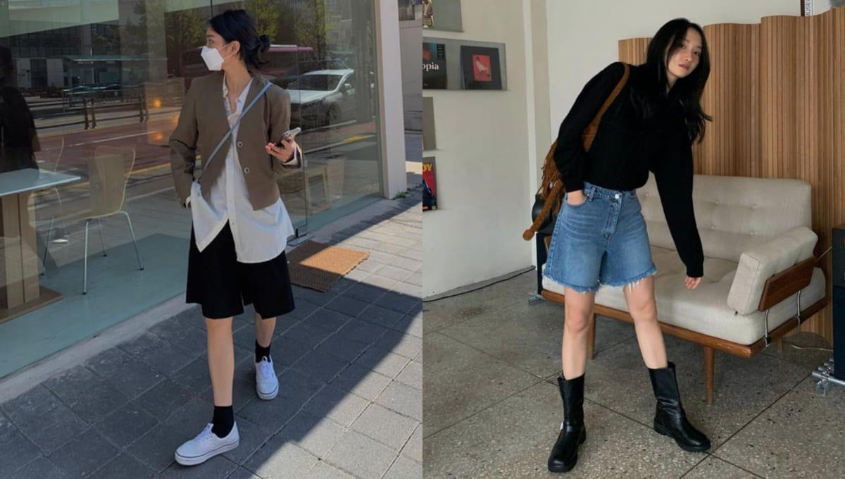 2021韓系穿搭看過來!五分褲、漁網針織...7項單品韓妞最愛,「這款」今夏回頭率最高