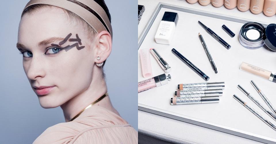 從2019春夏時裝秀看彩妝!Dior大玩創意,眼妝就是要「不規矩」!