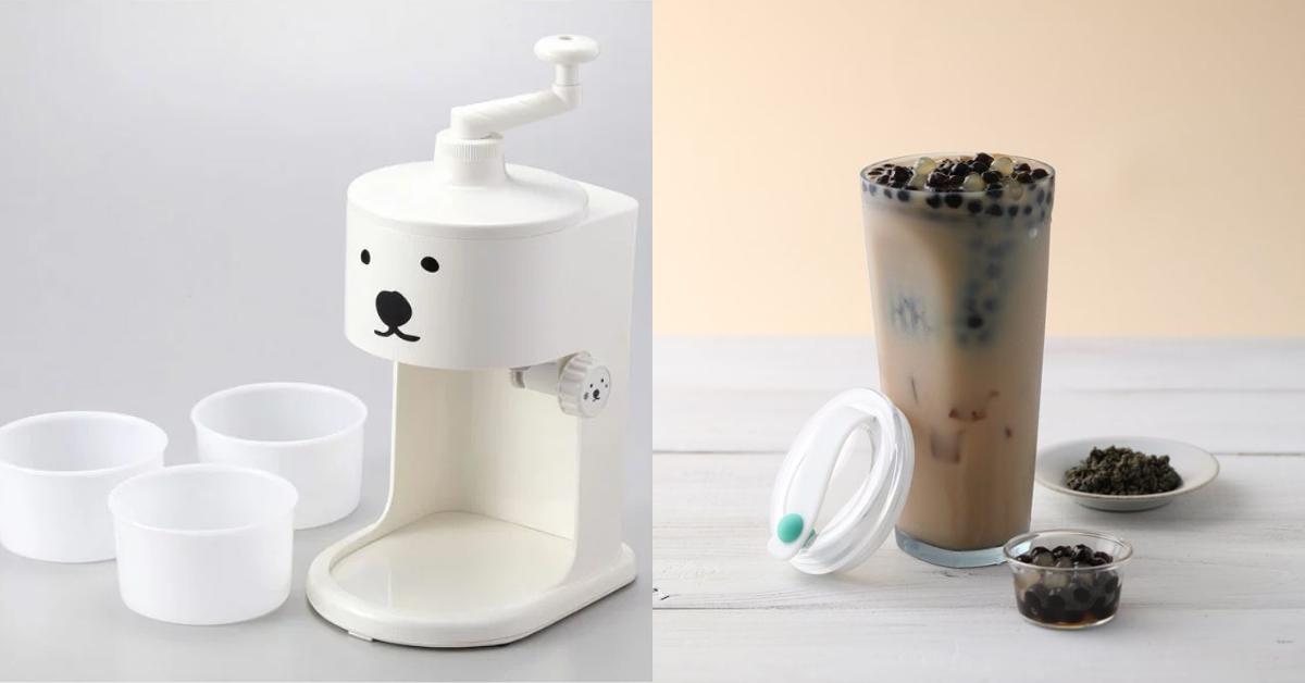 消暑必搶!誠品夏日主題展,北海道白熊製冰機、漂浮珍奶杯…涼夏好物大集合