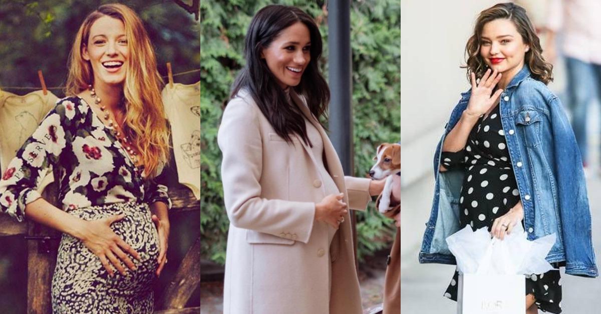 梅根馬克爾的孕婦穿搭美翻!還有這5個女星示範給你看